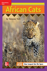 Reading Wonders Leveled Reader African Cats: ELL Unit 6 Week 4 Grade 3
