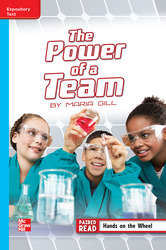 Reading Wonders Leveled Reader The Power of a Team: On-Level Unit 3 Week 4 Grade 5