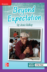Reading Wonders Leveled Reader Beyond Expectation: ELL Unit 3 Week 4 Grade 6