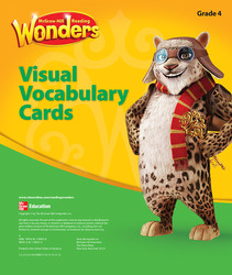 Reading Wonders, Grade 4, Visual Vocabulary Cards