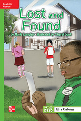 Reading Wonders Leveled Reader Lost and Found: Beyond Unit 1 Week 2 Grade 5