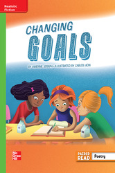 Reading Wonders Leveled Reader Changing Goals: Beyond Unit 2 Week 5 Grade 5