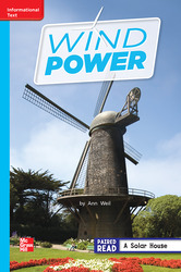 Reading Wonders Leveled Reader Wind Power: On-Level Unit 6 Week 2 Grade 2