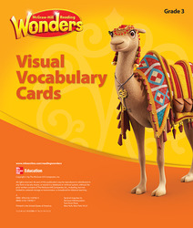 Reading Wonders, Grade 3, Visual Vocabulary Cards