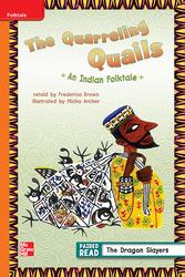 Reading Wonders Leveled Reader The Quarreling Quails: Approaching Unit 2 Week 1 Grade 3