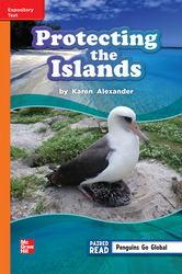 Reading Wonders Leveled Reader Protecting the Islands: Approaching Unit 2 Week 4 Grade 3