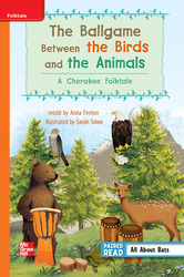 Reading Wonders Leveled Reader Ballgame Between Birds & Animals Approaching Unit 3 Week 1 Grade 3