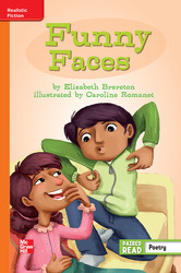 Reading Wonders Leveled Reader Funny Faces: Approaching Unit 6 Week 5 Grade 3