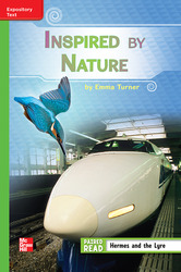 Reading Wonders Leveled Reader Inspired by Nature: Beyond Unit 3 Week 4 Grade 3