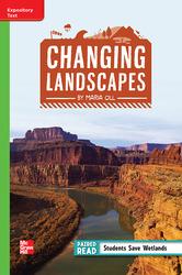 Reading Wonders Leveled Reader Changing Landscapes: Beyond Unit 1 Week 3 Grade 4