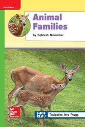 Reading Wonders Leveled Reader Animal Families: Beyond Unit 2 Week 4 Grade 2