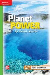 Reading Wonders Leveled Reader Planet Power: Beyond Unit 6 Week 3 Grade 4