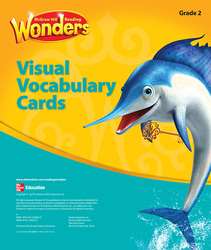 Reading Wonders, Grade 2, Visual Vocabulary Cards Grade 2