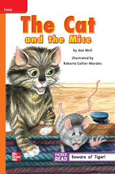 Reading Wonders Leveled Reader The Cat and the Mice: Approaching Unit 2 Week 2 Grade 2