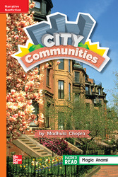 Reading Wonders Leveled Reader City Communities: Approaching Unit 3 Week 3 Grade 2