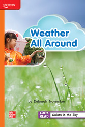 Reading Wonders Leveled Reader Weather All Around: Approaching Unit 3 Week 4 Grade 2