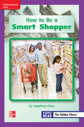 Reading Wonders Leveled Reader How to Be a Smart Shopper: ELL Unit 6 Week 4 Grade 2