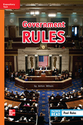 Reading Wonders Leveled Reader Government Rules Approaching Unit 5 Week 5 Grade 2