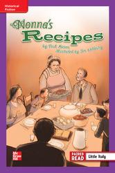 Reading Wonders Leveled Reader Nonna's Recipe: ELL Unit 6 Week 2 Grade 4