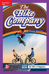 Reading Wonders Leveled Reader The Bike Company: ELL Unit 6 Week 4 Grade 4