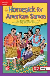 Reading Wonders Leveled Reader Homesick for American Samoa: ELL Unit 6 Week 5 Grade 4