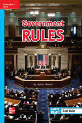 Reading Wonders Leveled Reader Government Rules On-Level Unit 5 Week 5 Grade 2