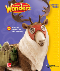 Reading Wonders, Grade 5, Teacher Edition Volume 5