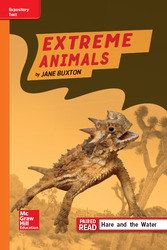 Reading Wonders Leveled Reader Extreme Animals: Approaching Unit 2 Week 4 Grade 4