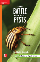 Reading Wonders Leveled Reader The Battle Against Pests: Approaching Unit 3 Week 5 Grade 4