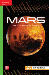 Reading Wonders Leveled Reader Mars: Beyond Unit 5 Week 4 Grade 5