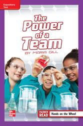 Reading Wonders Leveled Reader The Power of a Team: ELL Unit 3 Week 4 Grade 5