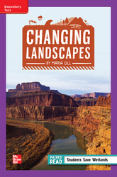 Reading Wonders Leveled Reader Changing Landscapes: ELL Unit 1 Week 3 Grade 4