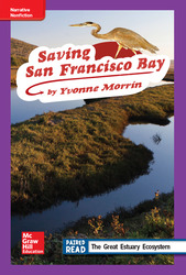Reading Wonders Leveled Reader Saving San Francisco Bay: ELL Unit 2 Week 3 Grade 4
