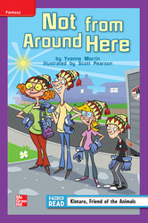 Reading Wonders Leveled Reader Not From Around Here: ELL Unit 3 Week 1 Grade 4