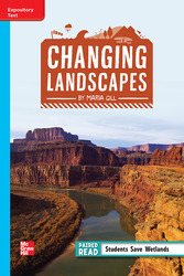 Reading Wonders Leveled Reader Changing Landscapes: On-Level Unit 1 Week 3 Grade 4