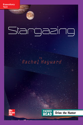 Reading Wonders Leveled Reader Stargazing: ELL Unit 4 Week 4 Grade 4