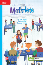 Reading Wonders Leveled Reader The Math-lete: On-Level Unit 4 Week 5 Grade 4
