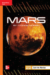 Reading Wonders Leveled Reader Mars: Approaching Unit 5 Week 4 Grade 5