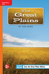 Reading Wonders Leveled Reader The Great Plains: Approaching Unit 5 Week 5 Grade 5