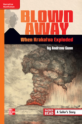 Reading Wonders Leveled Reader Blown Away: When Krakatoa Exploded: Approaching Unit 6 Week 2 Grade 6