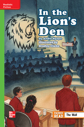 Reading Wonders Leveled Reader In The Lion's Den: Beyond Unit 1 Week 1 Grade 6