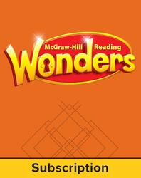 Reading Wonders, Grade 3, Reading Writing Workshop 6 Year Subscription