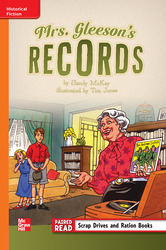 Reading Wonders Leveled Reader Mrs. Gleeson's Records: Approaching Unit 6 Week 1 Grade 5