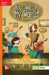 Reading Wonders Leveled Reader Your World, My World: Approaching Unit 6 Week 6 Grade 5