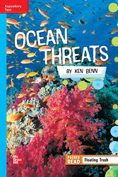 Reading Wonders Leveled Reader Ocean Threats: On-Level Unit 5 Week 3 Grade 5