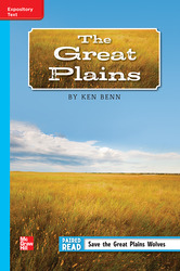 Reading Wonders Leveled Reader The Great Plains: On-Level Unit 5 Week 5 Grade 5