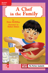 Reading Wonders Leveled Reader A Chef in the Family: ELL Unit 4 Week 2 Grade 3