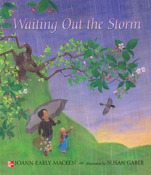 Reading Wonders Literature Big Book: Waiting Out the Storm Grade K