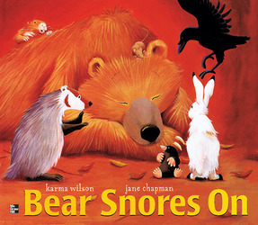 Reading Wonders Literature Big Book: Bear Snores On Grade K