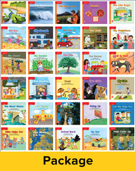 Reading Wonders Leveled Reader Package 6 of 30: Approaching Grade K